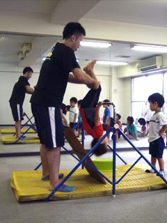 東京浅草・蔵前のトリニティー子ども教室「園児・小学生向け体操クラス」1